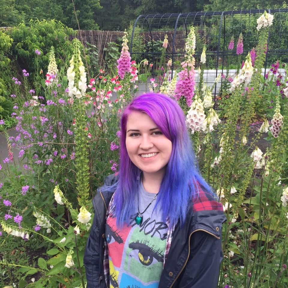 Me in flowers Rosemoore
